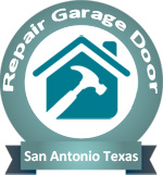 Repair Garage Door San Antonio TX Logo